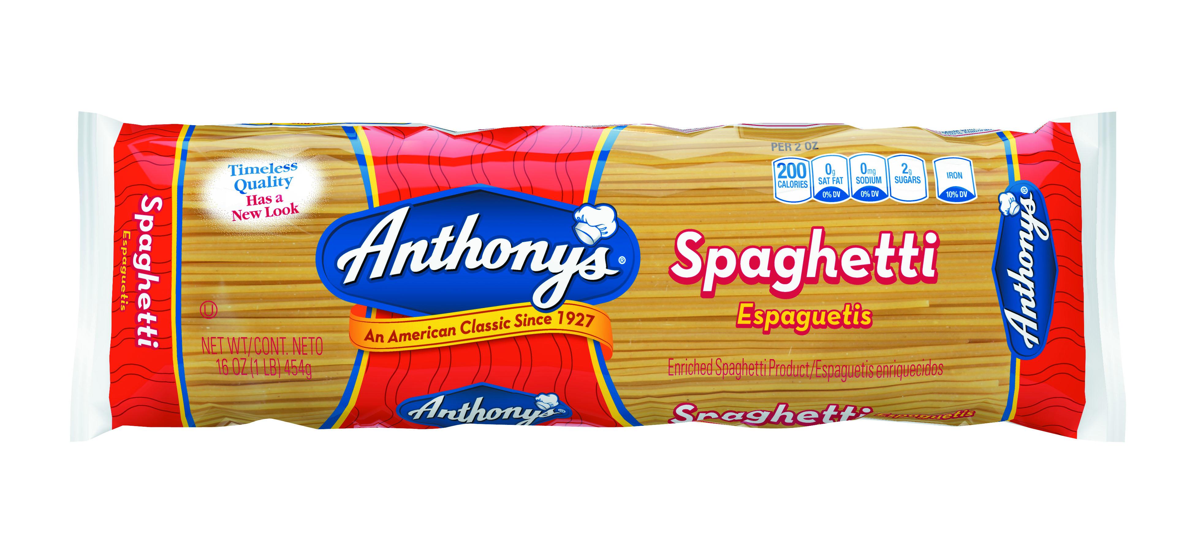 16oz-Spaghetti 100% Semolina